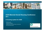 Michael Layde - A Housing System for 2020