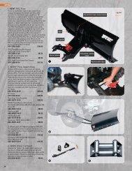 1. NEW! TRIC Plow 2. WARN® Plow ... - yamaha motor canada