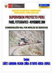 25 Fotos Noviembre-2009 Haga clic para ... - Provias Nacional