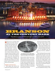 BRANSON - Leisure Group Travel