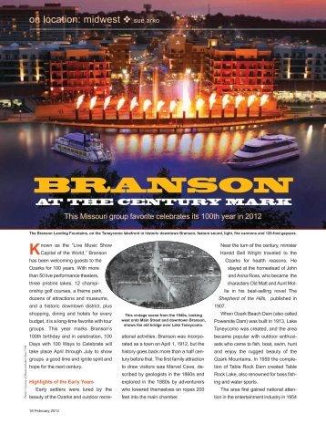 BRANSON - Leisure Group Travel