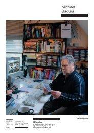 Michael Badura - Zeit Kunstverlag