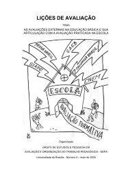 LIÇÕES DE AVALIAÇÃO - Portal Fortium