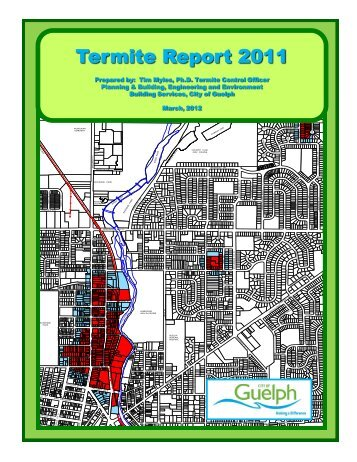 Termite Report 2011 - City of Guelph