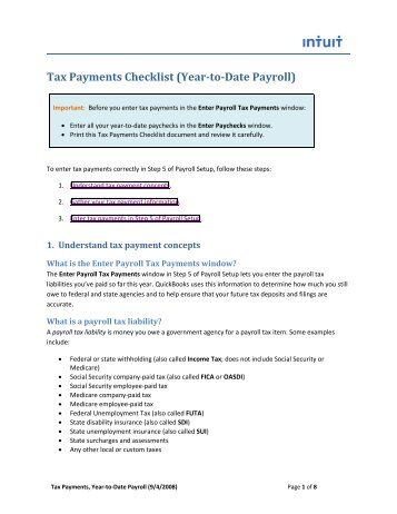 payroll intuit