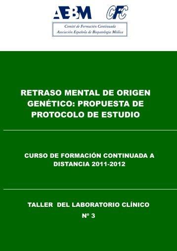 retraso mental de origen genético - Asociación Española de ...