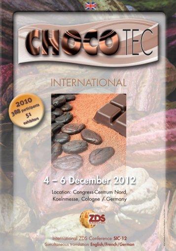4 – 6 December 2012 - Zentralfachschule der Deutschen ...