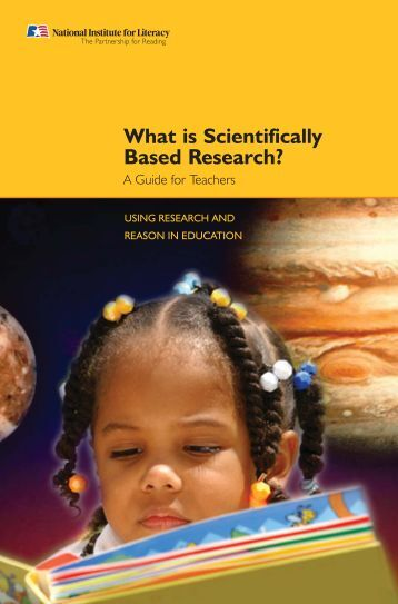 What is Scientifically Based Research? - LINCS - U.S. Department of ...