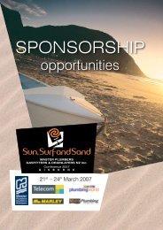 Sponsorship Programme - Public Impressions