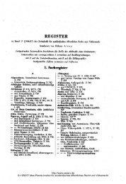 Sachregister - Zeitschrift für ausländisches öffentliches Recht und ...