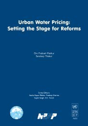 Urban Water Pricing: Setting the Stage for Reforms. - Indian Institute ...