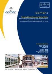 COMAR 2 - Comar Architectural Aluminium Systems