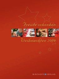 Weihnachtsprospekt 2009 - Friedrich Bischoff Verlag Frankfurt