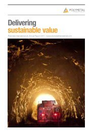 Download 2011 Annual Report - Polymetal