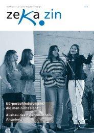 zekazin 2/2012 - zeka, Zentren körperbehinderte Aargau