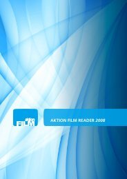 AKTION FILM READER 2008 - Aktion Film Salzburg