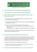 1. What is Ireland State Savings™? 2. What is the National Treasury ... - Page 3