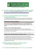 1. What is Ireland State Savings™? 2. What is the National Treasury ... - Page 4