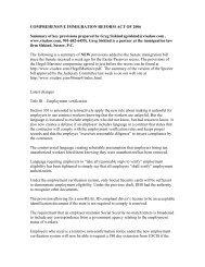 COMPREHENSIVE IMMIGRATION REFORM ACT ... - Siskind, Susser