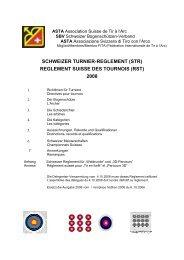 reglement suisse des tournois (rst) 2008 - ASTA