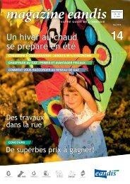 Magazine Eandis 14 - Juin 2010