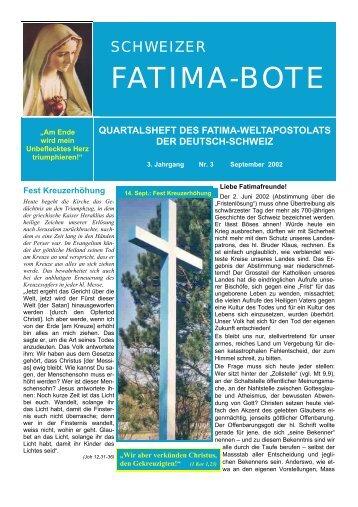 13 (2002/3) - Fatima-Weltapostolat
