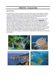 CROATIA – General info - European Council of Civil Engineers