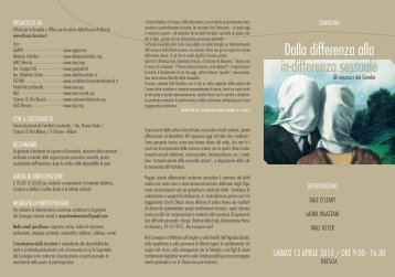 Dalla differenza alla in-differenza sessuale - Sugarco