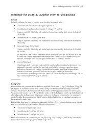 Riktlinjer för uttag av avgifter inom förskola/skola - Vara kommun