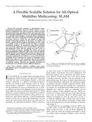 A Flexible Scalable Solution for All-Optical Multifiber Multicasting ...