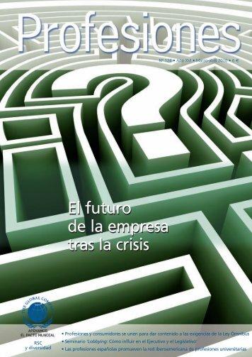 El futuro de la empresa tras la crisis - Revista Profesiones