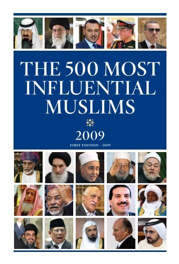 THE 500 MOST INFLUENTIAL MUSLIMS - Yale University