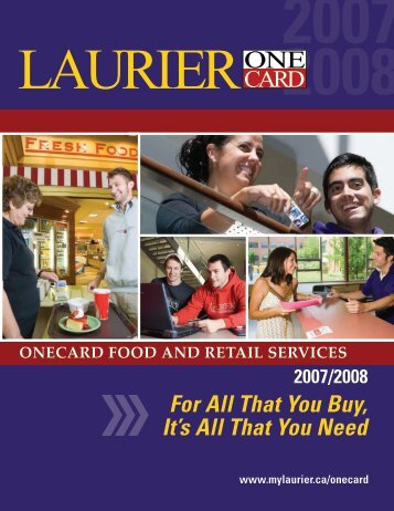 For All That You Buy, It's All That You Need - MyLaurier