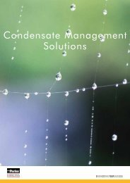 Condensate Management Solutions - Air Bonaita