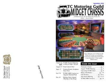 September Midget Chassis - TC Motoring Guild