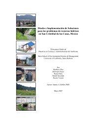 Diseño e Implementación de Soluciones para los problemas de ...