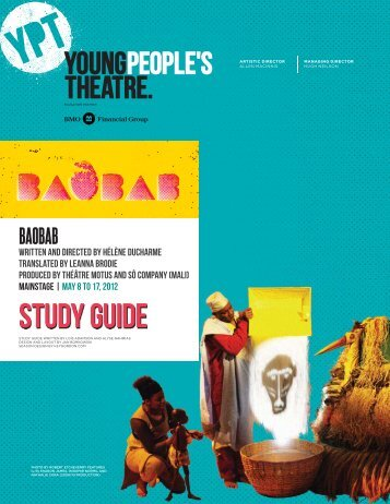 BAOBAB Study Guide - Young People's Theatre