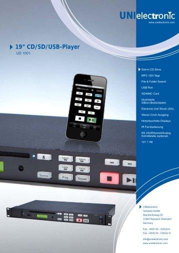 Datenblatt UD 1001 - Ela-Data GmbH