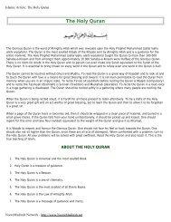 The Holy Quran - Noore Madinah Network