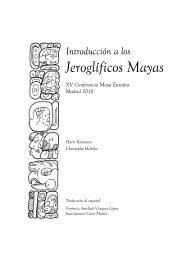 Jeroglíficos Mayas - Wayeb