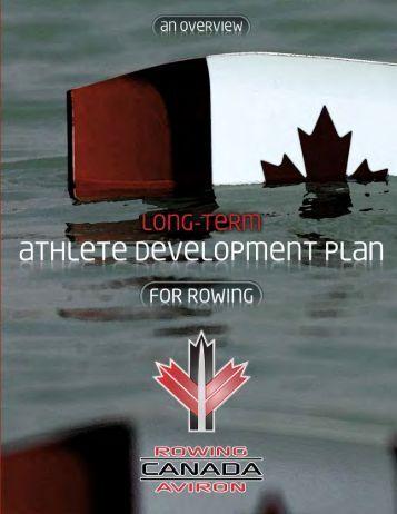 Long-Term Athlete Development Model (LTAD) - Rowing Canada