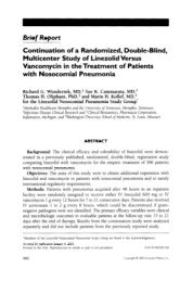 Continuation of a Randomized, Double-Blind, Multicenter ... - PfizerPro