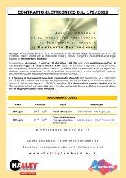 Contratto Elettronico D.L. 179/2012