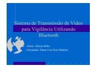 Transmissão de vídeo em redes Bluetooth