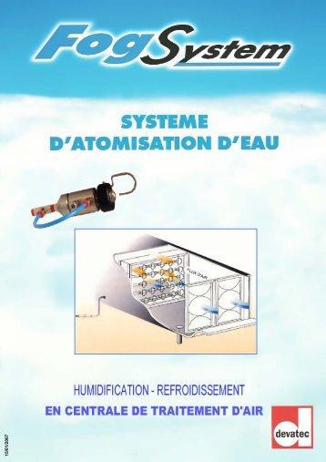 Fiche technique (centrale de traitement d'air) - Devatec