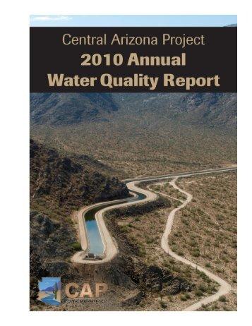 Lake Pleasant Dissolved Oxygen-vs-Depth - Central Arizona Project