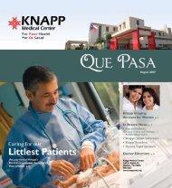 August 2007 - Knapp Medical Center