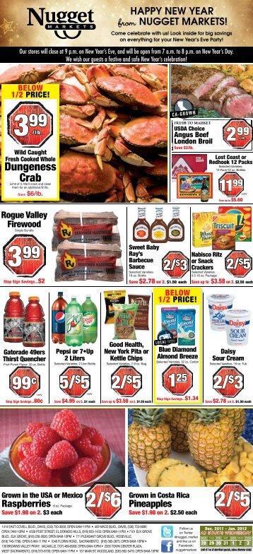 2/$5 2/$6 - Nugget Market