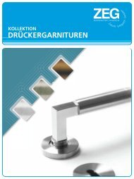 flächenbündige ächenbündige - ZEG Zentraleinkauf Holz und ...