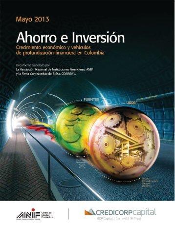 Ahorro e Inversión - Crecimiento económico y vehículos de ... - ANIF